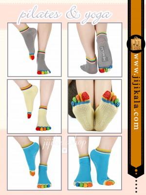 جوراب-انگشتی-پیلاتس-یوگا-6