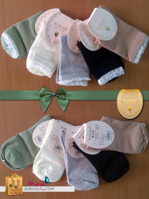 جوراب ساق بلند دخترانه بالرین۱۴