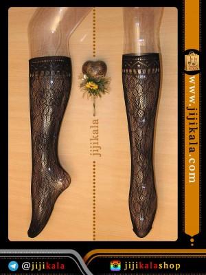جوراب توری ساق بلند
