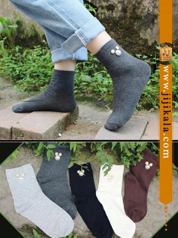 جوراب-ساق-بلند-نگیندار-مارک-بالرین-۲