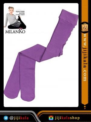 بنفش جوراب شلواری بچگانه-جوراب شلواری بچگانه ضخیم-جوراب شلواری بچگانه رنگی-جوراب شلواری بچگانه داخل کرکی