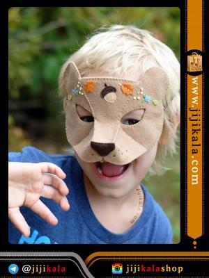 ماسک نمدی خرس