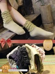 جوراب لمه,جوراب ساق بلند زری بافت برند بالرین