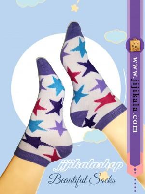 جوراب-رنگارنگ-ستاره-1