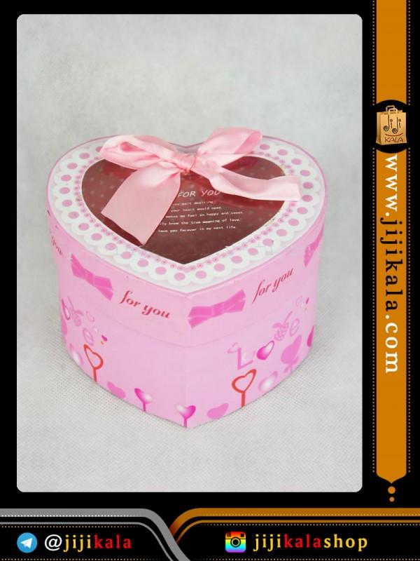 جعبه کادویی قلبی۵