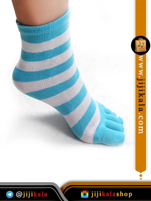 جوراب-انگشتی-راه-راه-درشت-۵