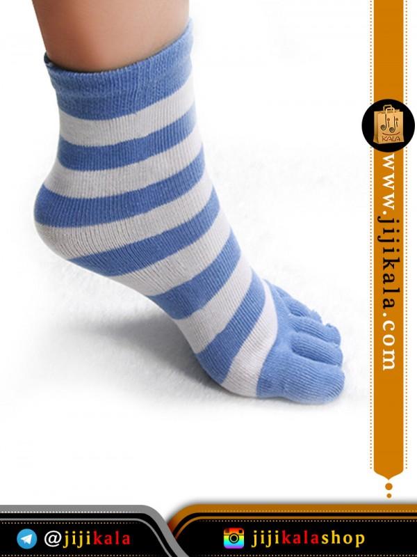 جوراب-انگشتی-راه-راه-درشت-۶
