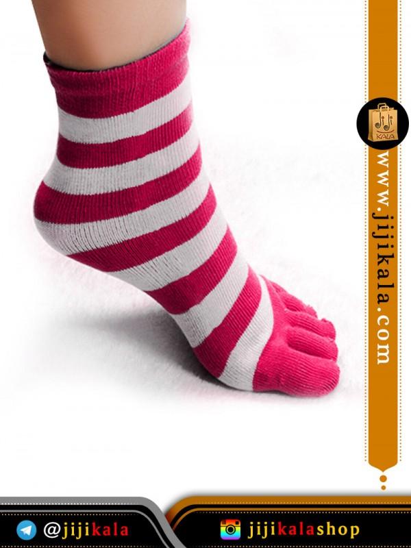 جوراب-انگشتی-راه-راه-درشت۸