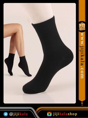 جوراب ضخیم مشکی (2)