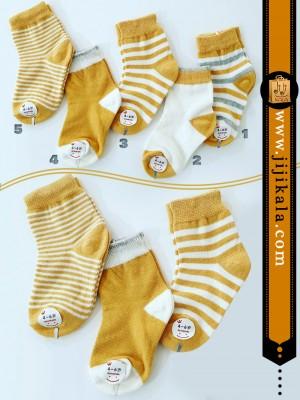 جوراب-نوزادی-زنبوری2