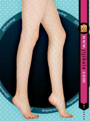 جوراب شلواری رنگ بدنfish-bage2
