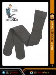 خاکستری جوراب شلواری بچگانه-جوراب شلواری بچگانه ضخیم-جوراب شلواری بچگانه رنگی-جوراب شلواری بچگانه داخل کرکی