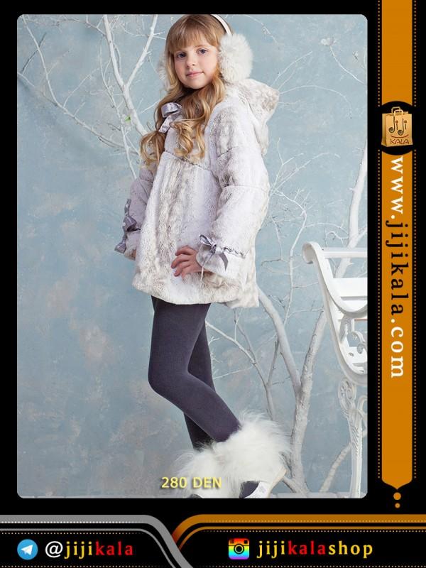 جوراب-شلواری خاکستری-milanko-دخترانه-بچه-گانه-ضخیم-ins (2)
