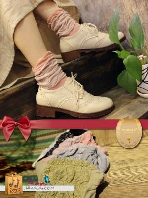 جوراب ساق بلند زری بافت برند بالرین,جوراب لمه,