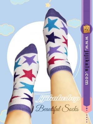 جوراب-رنگارنگ-ستاره-2