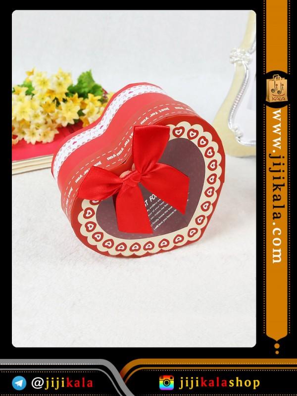 جعبه کادویی قلبی ۷