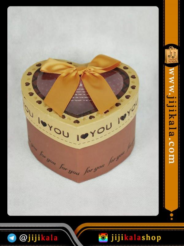 جعبه کادویی قلبی۶