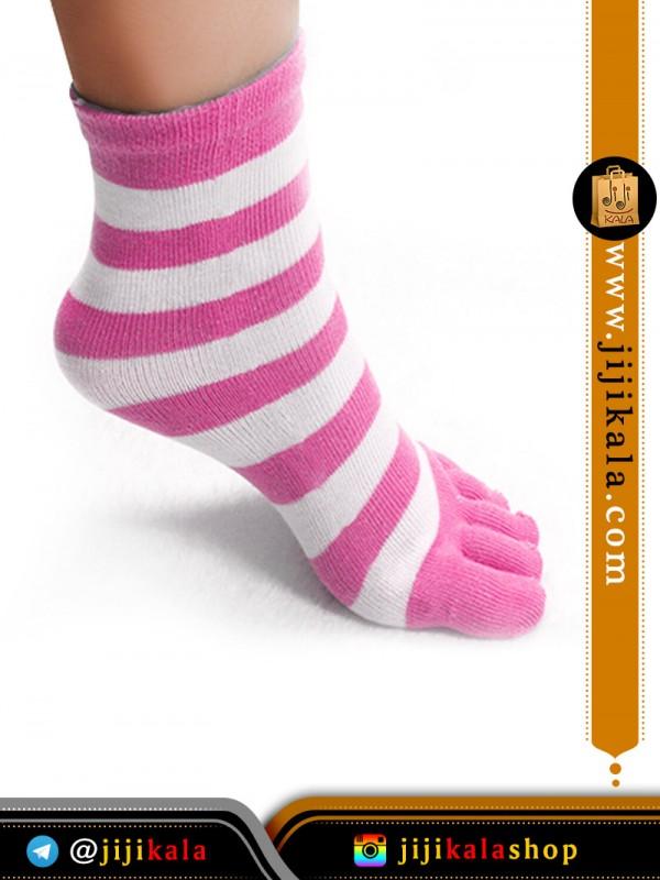 جوراب-انگشتی-راه-راه-درشت۹