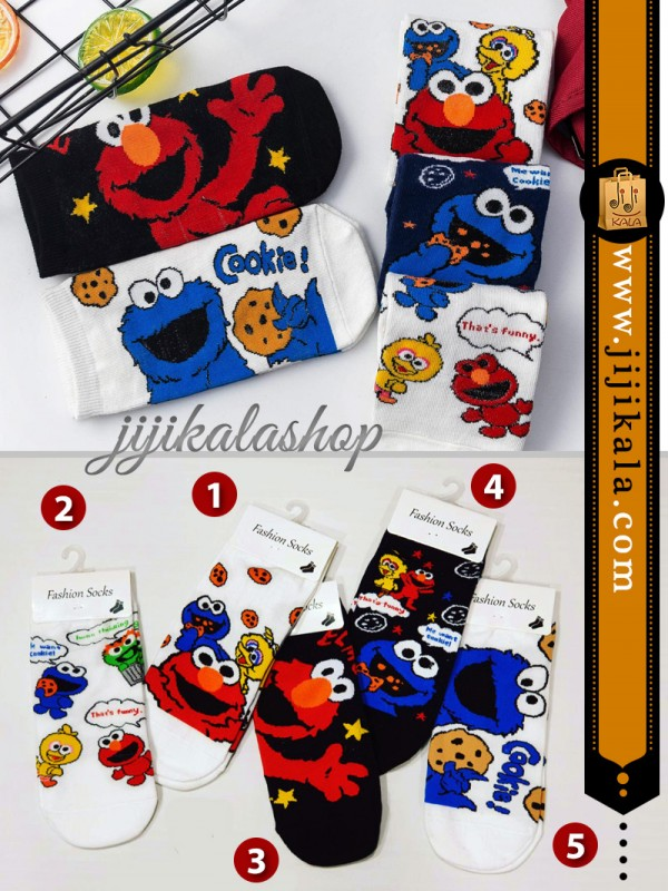 جوراب-کارتونی-کوکی-۲