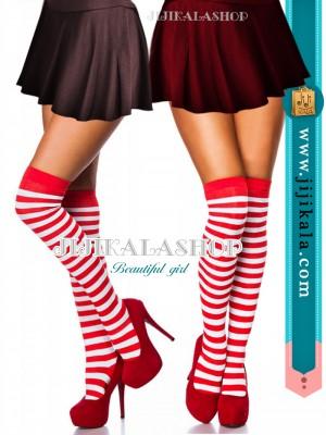 جوراب-بالازانو-قرمز-سفید-3