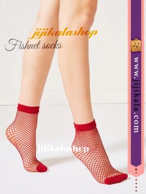 جوراب-فیشنت-قرمز-2